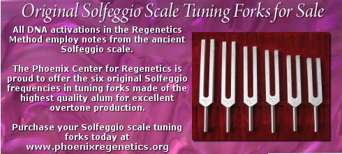 Solfeggio Tuning Forks | Phoenix Center for Regenetics