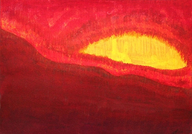 """Wildfire Eye"" 2012 © Sol Luckman"